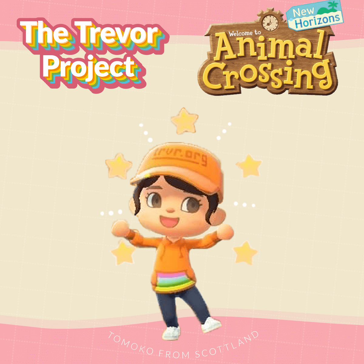 Animal Crossing: New Horizons x The Trevor Project