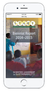 Mobile view of the START Bienial Report